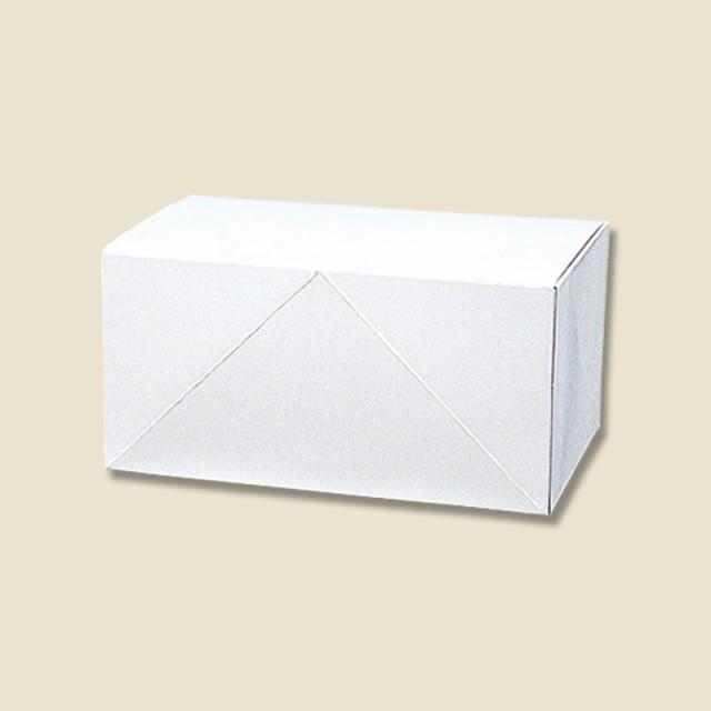 ケーキ箱 ケーキ用ケース・洋生 白B(10枚入)OKS-125【カットケーキ/持ち帰り/ギフト/贈り物/洋菓子/和菓子/焼き菓子/白箱/お土産】