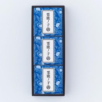 小布施堂栗鹿ノ子ミニ3個入(信州長野県のお土産 お菓子 和菓子 ギフト おみやげ 長野土産 通販 小布施栗菓子 栗鹿の子 くりかのこ)