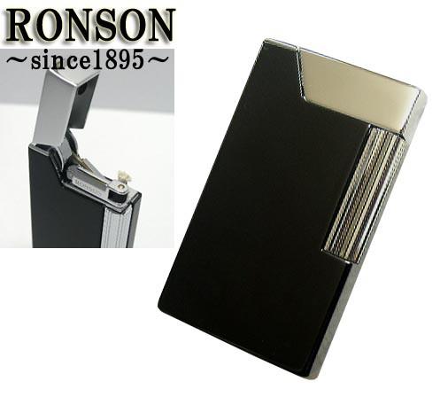 送料210円〜RONSON(ロンソン)あえてオイル仕様にこだわったWork オイルライターR26-0011(ラッカーブラック)☆おまけメンテブラシ付き!