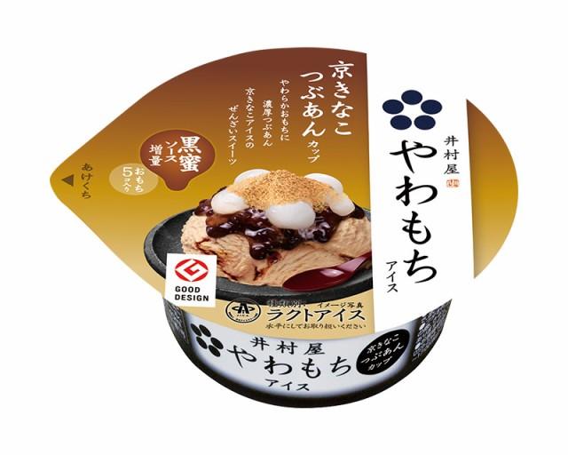 井村屋 アイスクリーム やわもちアイス京きなこつぶあんカップ 24入 和風スイーツ