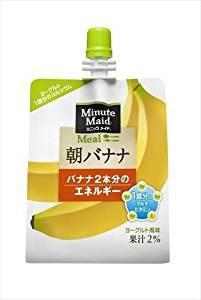 コカ・コーラ ミニッツメイド 朝バナナ 180g×24本入