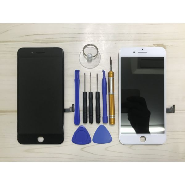 89ed4f879e iPhone7 フロントパネル交換 ( スーパーAAA品 ) 激安 高品質 白/黒 即日