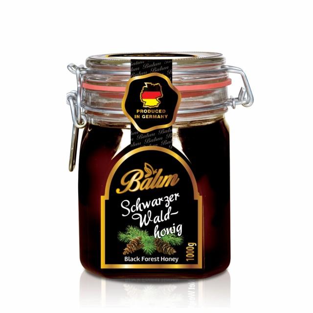 ドイツ産 はちみつ バリム ブラックフォレストハニー 1kg ドイツ産 ブラックフォレストハニー 1kg ハチミツ 蜂蜜 ハニーデュー 甘露蜜