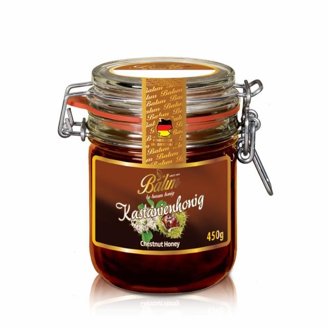 ドイツ産 はちみつ バリム チェスナッツハニー 450g 栗のはちみつ マロンハニー ドイツ産 くり蜂蜜 450g Balim(バリム)ハニー ハチミツ