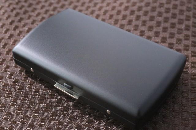 【PEARL】ブランドシガレットケース iQOS (アイコス)ヒートスティック専用 20本 マットブラック 黒 アイコスケース 人気 艶消し黒