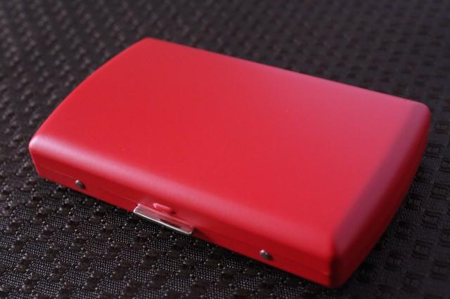 【PEARL】ブランドシガレットケース iQOS (アイコス)ヒートスティック専用 20本 マットレッド 赤 アイコスケース 人気 艶消し赤