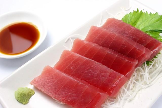 業務用 バチ鮪赤身サク 1kg 並品 【マグロ】 【特価品】