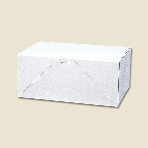 ケーキ箱 ケーキ用ケース・洋生 白C(50枚入)OKS-130【カットケーキ/持ち帰り/ギフト/贈り物/洋菓子/和菓子/焼き菓子/白箱/お土産】