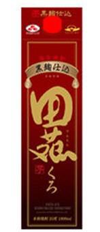 田苑酒造  田苑 芋黒麹仕込 パック 25度 1800ml 芋焼酎