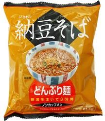 トーエー どんぶり麺・納豆そば 81.5g×4食