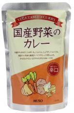 ムソー 国産野菜のカレー・辛口 200g