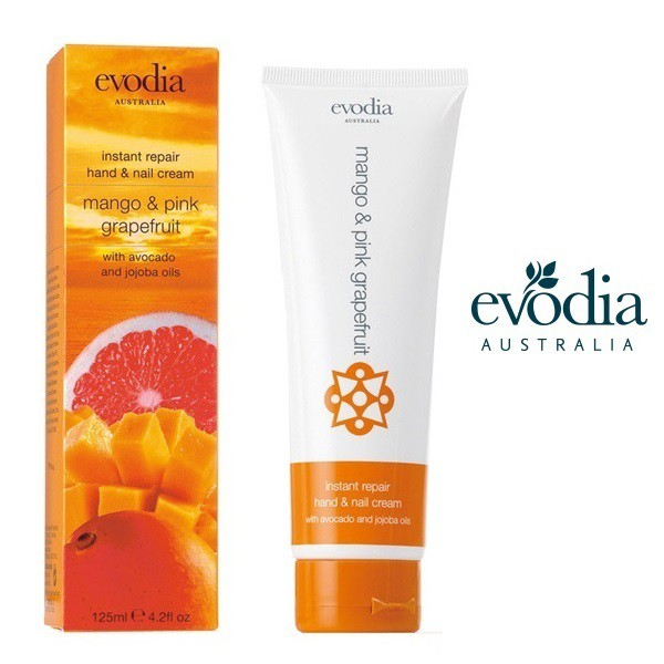 evodia エボディア Hand&Nail Cream ハンド&ネイルクリーム mango pink grapefruit マンゴ&ピンクグレープフルーツ 125ml