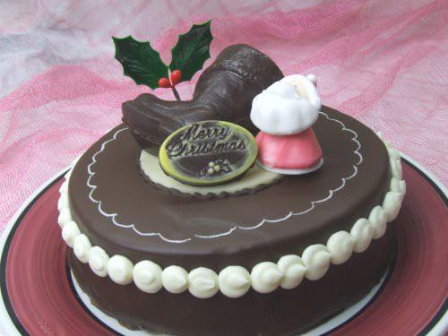 クリスマス チョコデコレーション