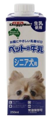 【ドギーマンハヤシ】ペットの牛乳 シニア犬用 250mlx24個(ケース販売)