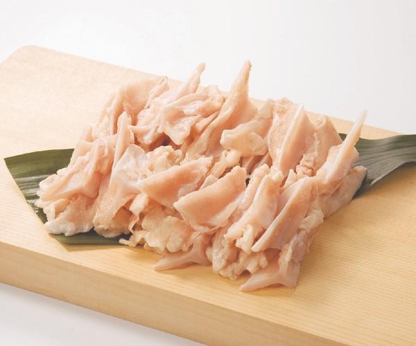 【鶏肉】タイ産 鳥胸軟骨(ヤゲン軟骨)肉つき 1kg から揚げ 唐揚げにしても美味しいです。(pr)(07905)【鳥肉】