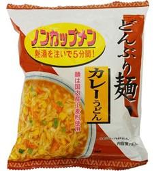 【ケース販売】トーエー どんぶり麺・カレーうどん 86.8g×24食