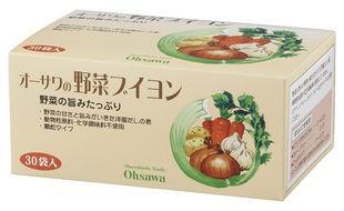 オーサワの野菜ブイヨン〈徳用〉 5g×30包