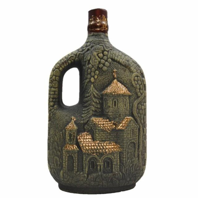クヴァレリ チャーチ 陶器ボトル 750ml/赤ワイン グルジア(ジョージア)ワイン