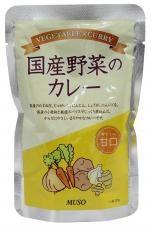 ムソー 国産野菜のカレー・甘口 200g お得な10個セット