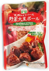 三育 完熟トマトソース野菜大豆ボール 100g