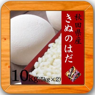 【令和1年産 秋田県産 もち米 きぬのはだ 白米10kg】(5kg×2)もち米 10kg 送料無料 モチ米 餅米 おもち 絹の肌 キヌノハダ 10キロ 餅