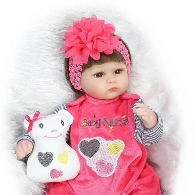 お人形 きせかえ人形 赤ちゃん 人形 リアルドール ドール リボーンドール キッズ 柔らかいビニル、布  42cm お人形遊び