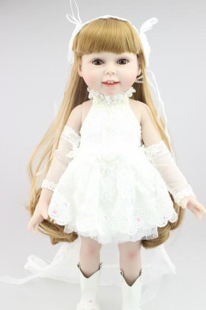 お人形 きせかえ人形 赤ちゃん 人形 リアルドール ドール リボーンドール キッズ 柔らかいビニル 45cm お人形遊び クリスマス