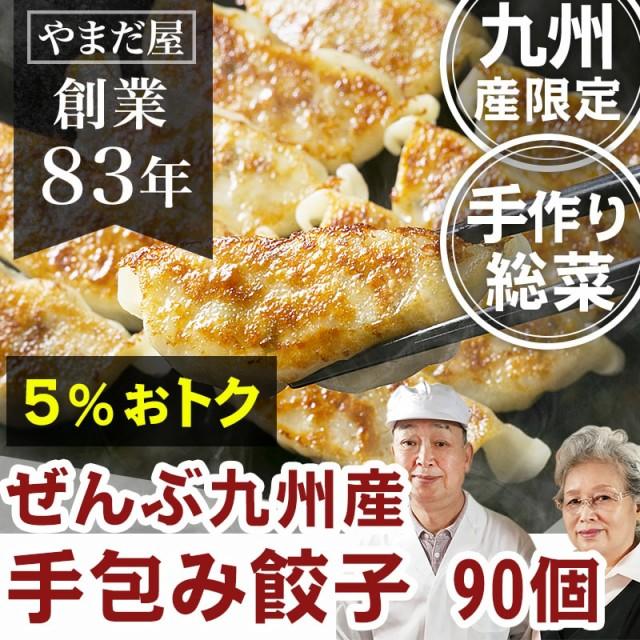 無添加 砂糖不使用 ギョウザ 90個 鹿児島県産 はいからポーク 九州産野菜 お惣菜 総菜 手作り 餃子 手包み ぎょうざ そうざい