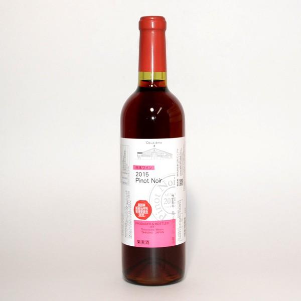 スイス村ワイナリー ピノノワール ドゥ ジュム[2015] 720ml/日本ワイン/あづみアップル/国産/赤ワイン