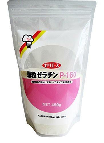 ゼリエース 顆粒ゼラチン P-160  450g   【全国宅配便 送料無料】【介護食 粉末ゼラチン 野洲化学工業】