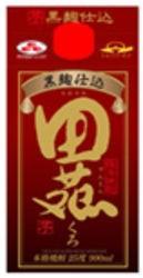 田苑酒造 田苑 芋黒麹仕込 パック 25度 900ml 芋焼酎