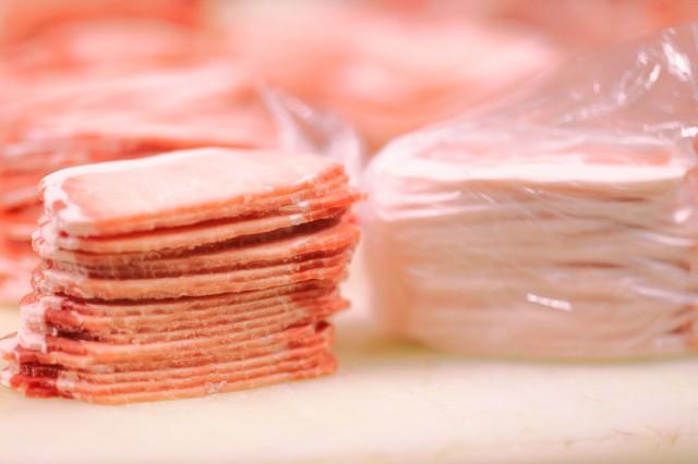 送料無料 アメリカ産 ギガ盛り豚ロース4.5kg(3mmスライス500g×9袋)