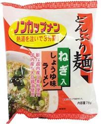 【ケース販売】トーエー どんぶり麺・しょうゆ味ラーメン 78g×24食
