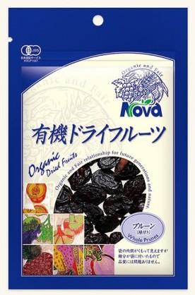 NOVA 有機栽培プルーン 150g
