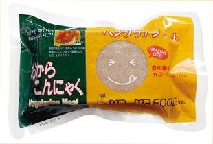 低カロリーで食物繊維が豊富!おからこんにゃく(ベジタリアンミート) 340g お得な10個セット