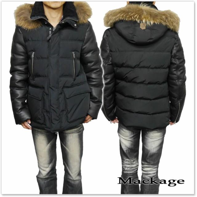 【セール 50%OFF!】MACKAGE マッカージュ メンズダウンジャケット GAVIN-F5 ブラック