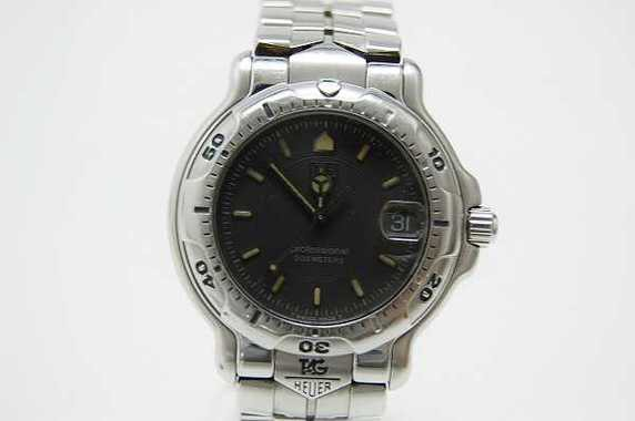 ★タグホイヤー 6000 メンズ腕時計 グレー文字盤 WH1112★