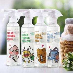 (先払いのみ)韓国生活用品 KAKAO FRIENDS(カカオフレンズ)繊維脱臭剤 400ml / 衣類消臭スプレー(4種1択)