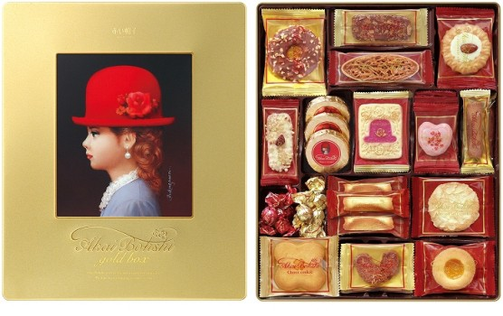 NEW【赤い帽子】/ゴールドボックス/チボリーナ/お菓子/洋菓子/引出物/お土産/お返し/クッキー/スイーツ/母の日/敬老の日/父の日