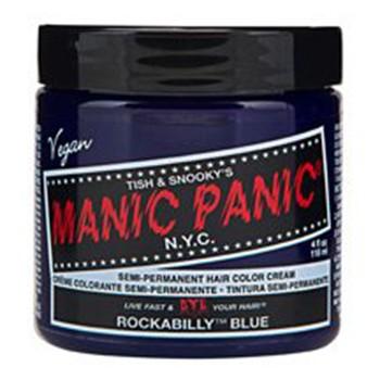 痛めないヘアカラー《ロカビリーブルー》濃度5【マニックパニック/MANIC PANIC】