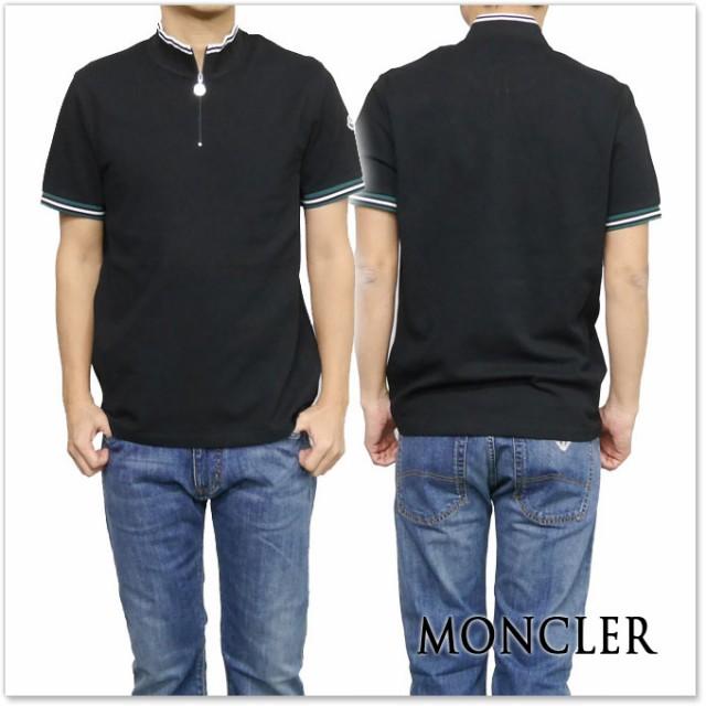 MONCLER モンクレール メンズポロシャツ 83004-00-84556 ブラック /2017春夏新作