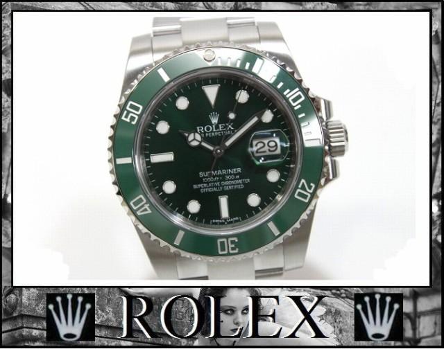 ★ロレックス サブマリーナ メンズ腕時計 自動巻 SS グリーン文字盤★