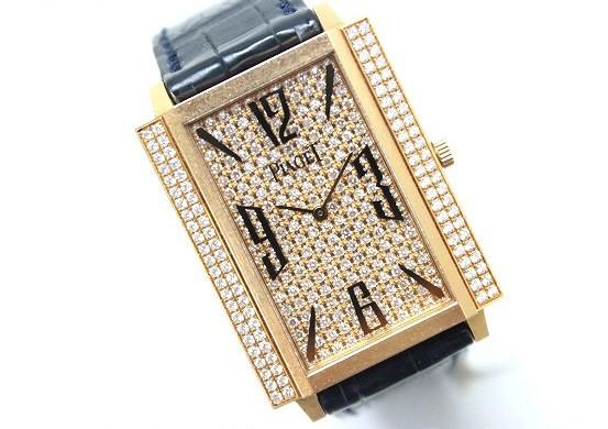 ★ピアジェ ライムライト メンズ腕時計 K18PG ダイヤ文字盤ベゼル★