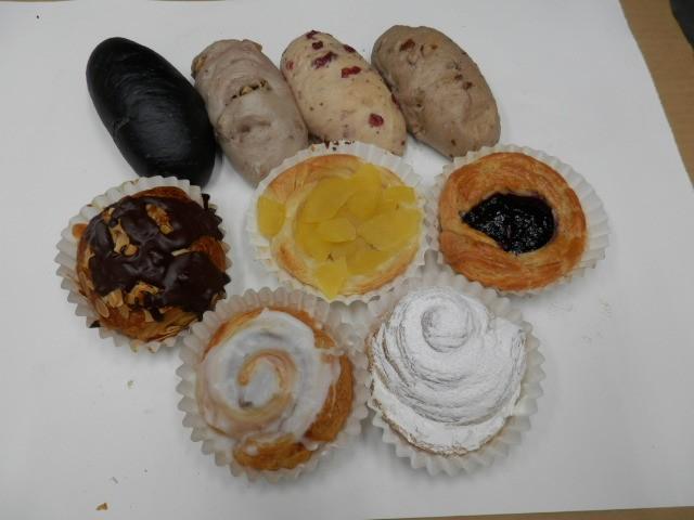奇跡の30年自家製天然酵母ぱん  セットS。美味しいスイーツ菓子パンと本格酵母パンのセットです。