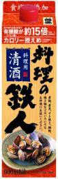 2ケースまで送料1ケース分(ヤマト運輸)料理の鉄人900mlパック(6本入)ケース単位:中埜酒造(株)