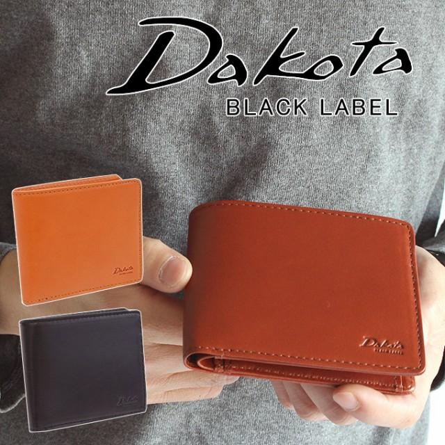ポイント10倍 Dakota ダコタ 二つ折り財布 ブラックレーベル BLACK LABEL メーディオ イタリア製牛革 折財布 626700 メンズ 財布 正規品