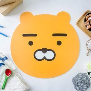 (先払いのみ) 韓国キャラクターグッズ KAKAO FRIENDS(カカオフレンズ) フェイス テーブルマット2P (6種1択)