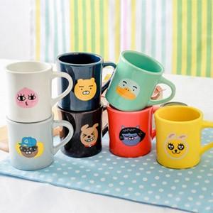 (先払いのみ) 韓国キャラクターグッズ KAKAO FRIENDS(カカオフレンズ) フェイス マグカップ(7種1択)