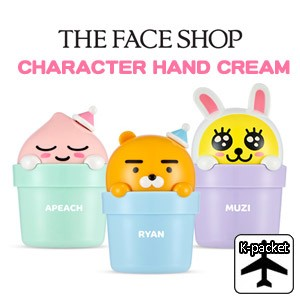 【代引き不可、韓国直送】 韓国コスメ <THE FACE SHOP X KAKAO FRIENDS> カカオフレンズ キャラクター ハンドクリーム(3種1択)