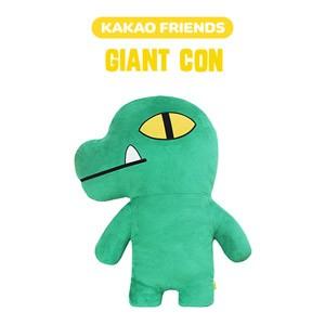 (先払いのみ) 韓国キャラクターグッズ KAKAO FRIENDS(カカオフレンズ) CON コン ジャイアント 大型 ぬいぐるみ(70x85cm)